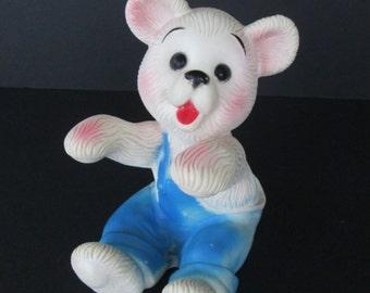 Sweet Bonnytex Rubber Bear Cub Toy