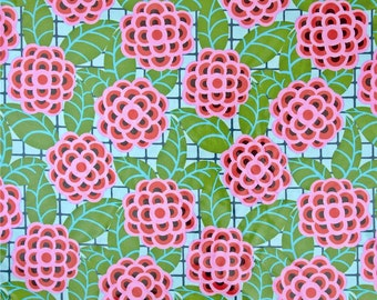 COUPON CODE SALE - End of Bolt - Amy Butler, Cameo, Tea Rose, Silver, Rowan Westminster, 100% Cotton Quilt Fabric, Floral Quilting Fabric