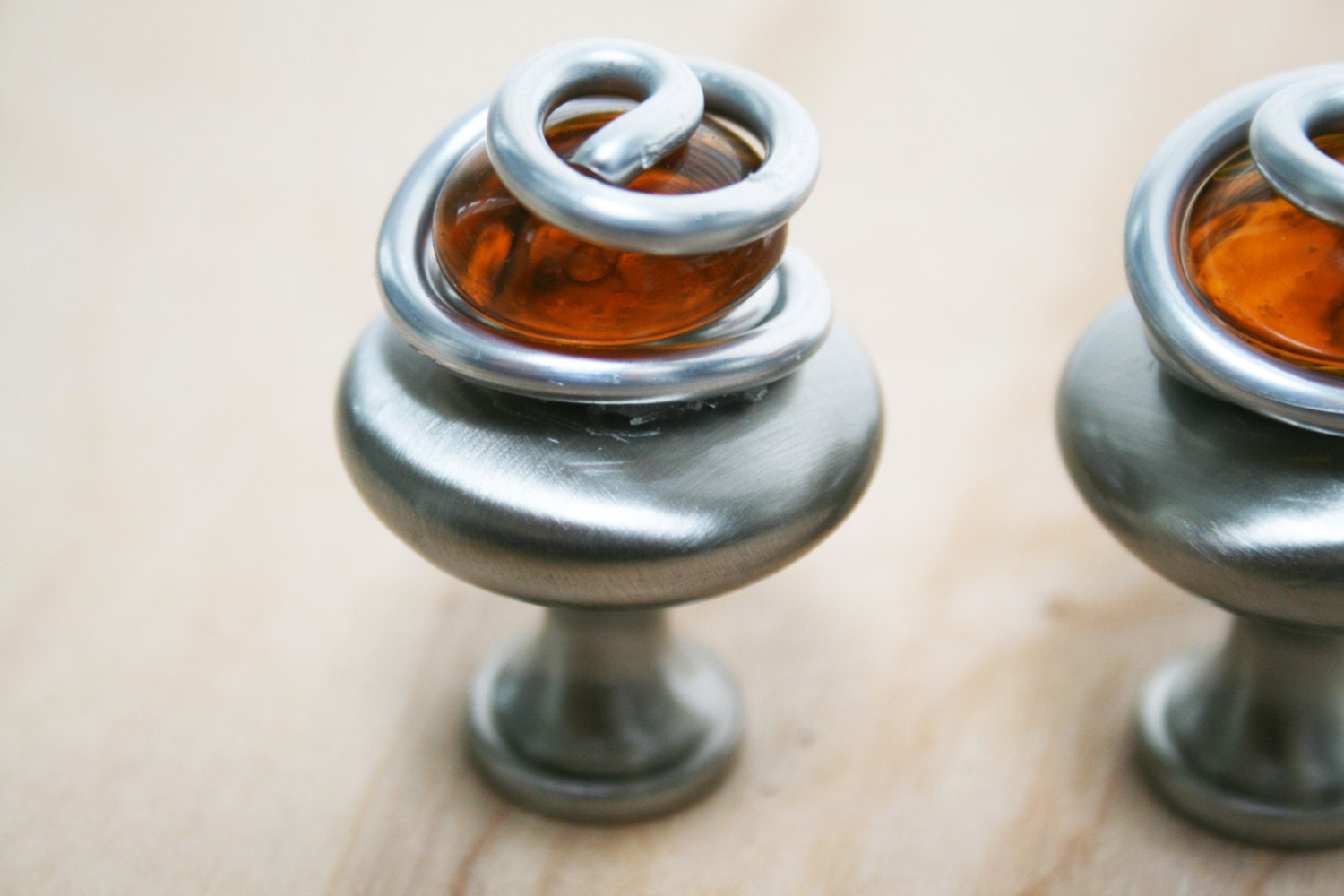 Amber glass cabinet knobs and pull kitchen cabinet knobs furniture handles bathroom cabinet Glass furniture pulls
