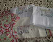 Reserved Listing For Sally - Vintage Trailer Embroideries & Pot Holders