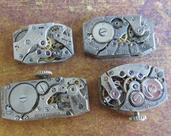 Featured - Steampunk supplies - Watch movements - Vintage Antiqueki Watch movements Steampunk - Scrapboong y7