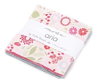 WINTER SALE - In Stock - Aria - Charm Pack - Kate Spain - Moda Fabrics