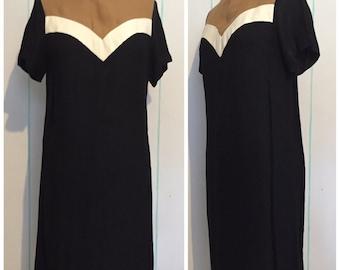 70s Sheath Dress Size 10