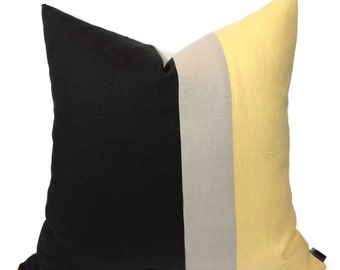 PILLOW SALE   Color Block Pillow Cover - Pillow Covers - Throw Pillows - More Than 1/2 Off Was 85