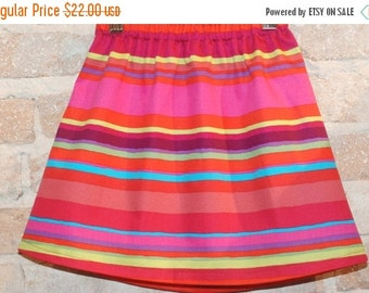 SALE Modern A-line Skirt - posh stripes -toddler girls clothing - mod kids fall fashion - made to order - sizes 2T 3T 4 5 6 7 8