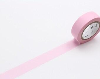 pastel pink - mt basic colour - washi tape