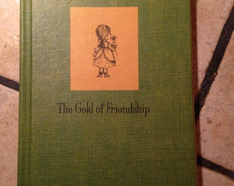1967 The Gold of Friendship Book by Hallmark