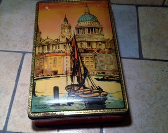 Riley's Toffee Candy Tin Box