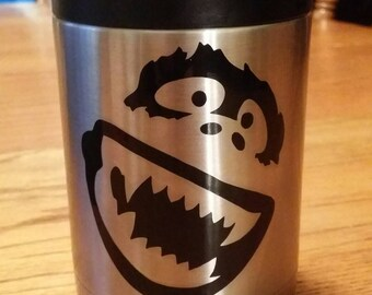 The Yeti face Vinyl Decal Car Sticker