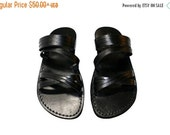 20% OFF Black Swing Leather Sandals for Men & Women