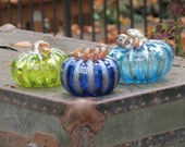 Glass Pumpkin Triple Play...