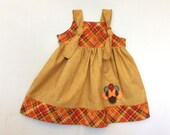 Rush Order Needs by Nov. 21st Minnie Mouse Thanksgiving dress Name  Size 6