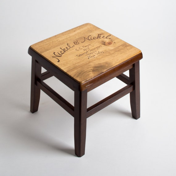nickel nickel wine crate step stool. Black Bedroom Furniture Sets. Home Design Ideas