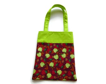 Apple Gift Bag - Goodie Bag - Mini Tote