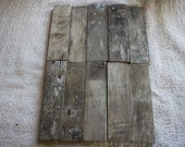 AWESOME LOBSTER TRAP Driftwood craft Pieces Beautiful Patina and grains
