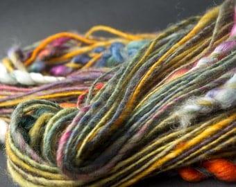 20 Skeins Spun for You, HandSpun and Hand dyed Yarn, various styles, 50 yards minimum per skein, Bulk, Wholesale