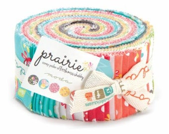Prairie Jelly Roll by Cory Yoder - Little Miss Shabby for Moda