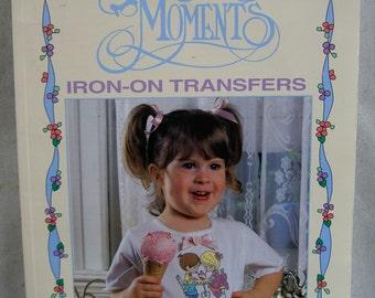 Precious Moments Iron-On Transfers (Leisure Arts Leaflet 1697) (Copyright 1996)