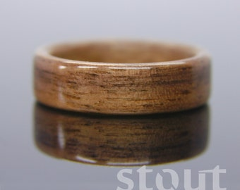 Special Price!  Bentwood Ring - Classic Walnut Wooden Ring - Handcrafted Wood Wedding Ring - Custom Made Wood Band