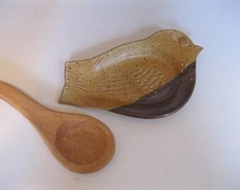 Spoon Rest Bird Shaped