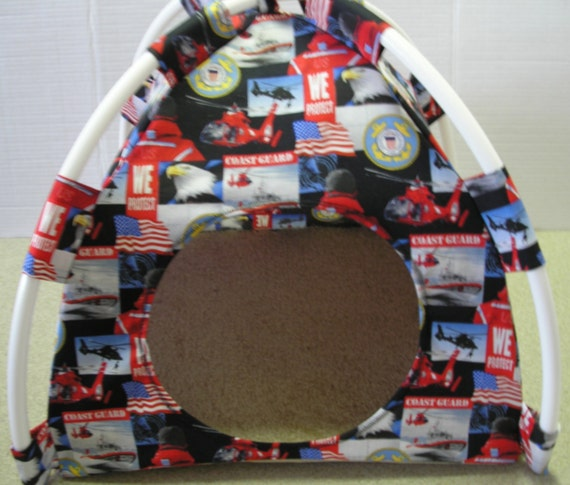 Large Pup Tent Pet Bed ( see multiple fabric choices #4 )  For Cats/Dogs/Ferrets/Piggies Or Used for a Toy Box/Barbie Doll House