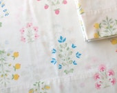 2 Pillowcases Blue Pink Yellow Flowers by Wamsutta