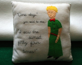44 Sunsets Pillow (The Little Prince)
