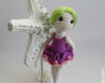 Amigurumi Ballerina Doll Pattern
