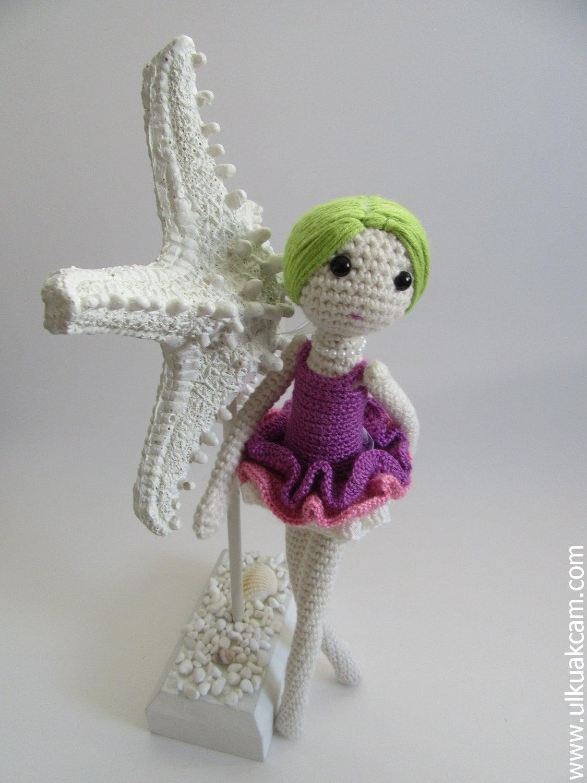 Amigurumi Klesik Doll : Amigurumi Ballerina Doll Pattern