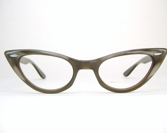 Beautiful Vintage Cat Eye Glasses Eyeglasses Sunglasses Frame B&L