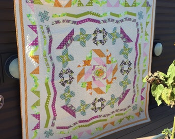 Sampler Quilt - Full Size Bed Quilt