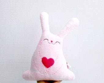 Pink stuffed bunny, stuffed bunny, easter bunny, rabbit toys, easter rabbit, bunny plush, bunny rabbit plush, bunny plushie - Bunny Roro