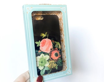 iPhone 6 Case, Vintage Floral Bouquet - Ready to Ship Christmas Gifts for Her, Girlfriend, Friend, Sister, Woman