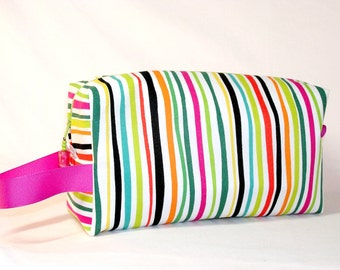 Cabana Stripe Project Bag