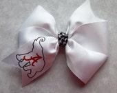 Football Team Alabama Boutique Hair Bow for girls