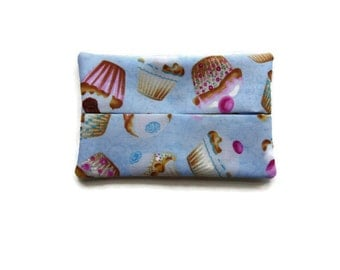 Fabric Tissue Holder - Cupcakes