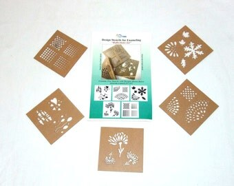 Design Stencils By Eurotool (RefLections)  Great For Enameling