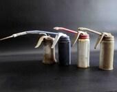 4 Vintage 5oz Pump Oilers / Instant Collection
