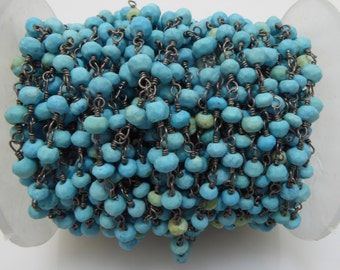 turquoise rosary chain