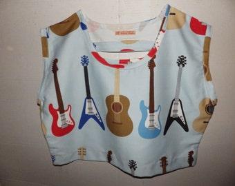Guitar Oversize Summer Top
