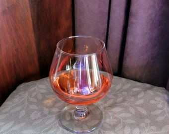 Fake Glass 12 oz Brandy Snifter Handcrafted FAUX FOOD Staging PROP