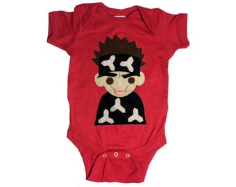 Who's The Supermodel!? - Baby {Red} Baby Bodysuit - Baby Shower Gift