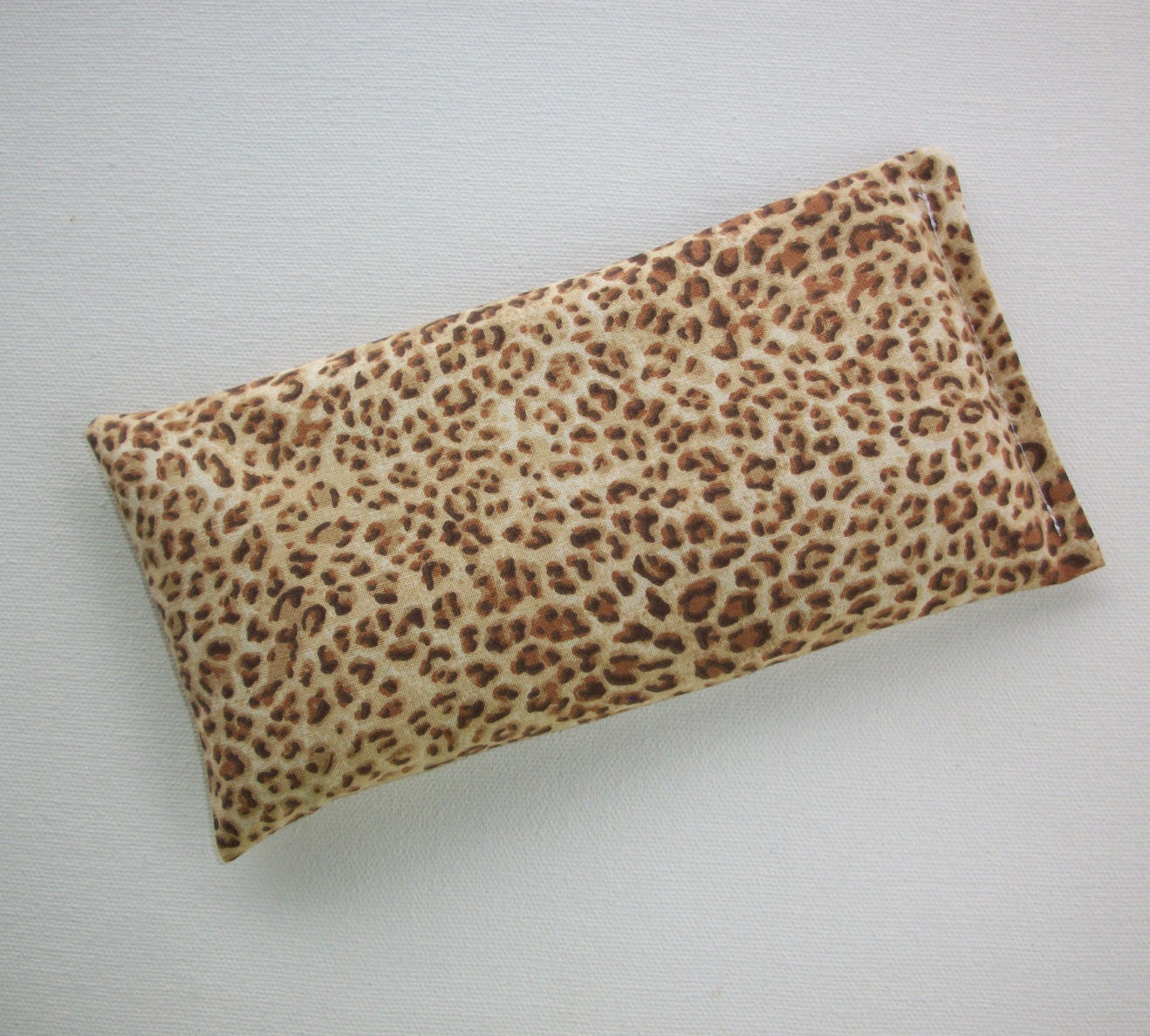 Aromatherapy Animal Pillow : Aromatherapy Eye Pillow lavender / flax seeds Cheetah