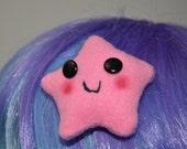 Awkward Star Hair Clip