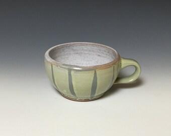 Sea foam teacup