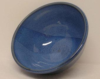 Deep Denim Blue Porcelain Bowl