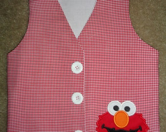 Red Monster Vest