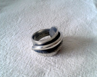 Upcycled ring size 8 - Fork vintage handle
