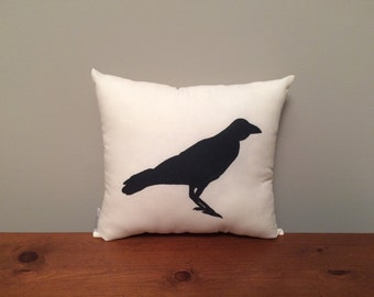 Crow Pillow