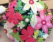 Pink tropical parasol